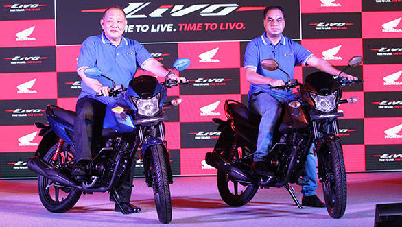 HMSI president and CEO  Keita Muramatsu at the launch of the new Honda Livo - width=