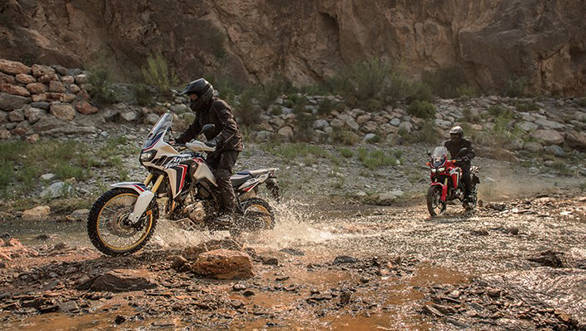 Video worth watching: Riding a Honda Africa Twin off-road