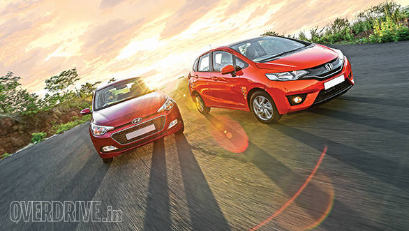 Hyundai Elite i20 vs Honda Jazz (1)