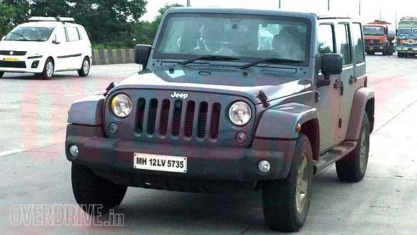 Jeep Wrangler Four Door And Grand Cherokee Reappear On Indian Roads