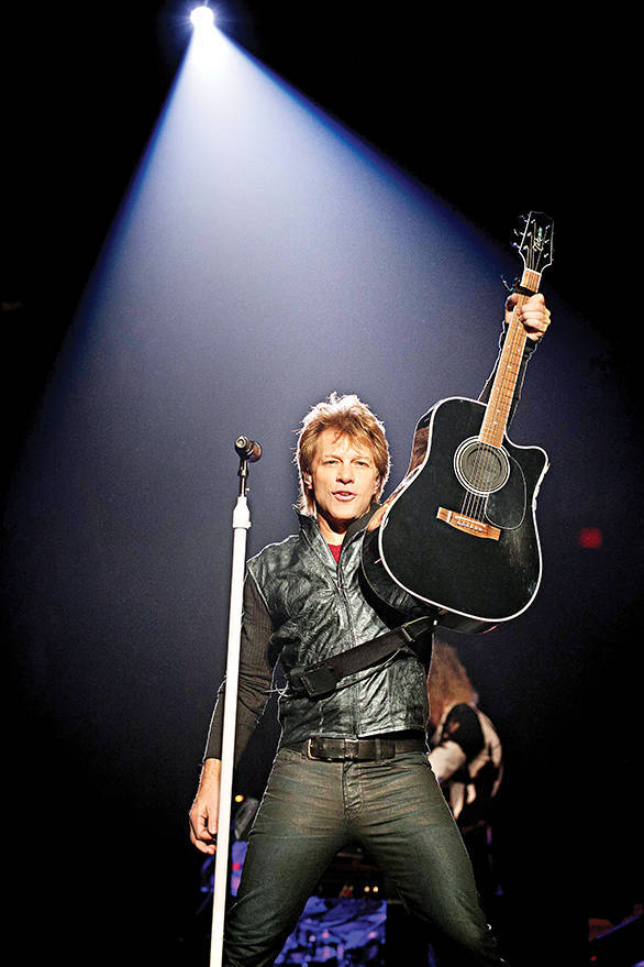 Jon Bon Jovi will be performing live after a spell of two years, only at the Singapore GP