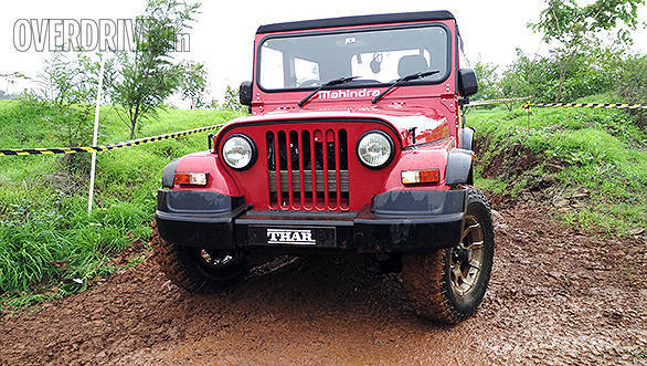 Mahindra Thar updated