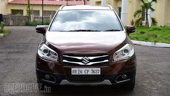 The twin slat chrome grille debuts in the Indian S-Cross
