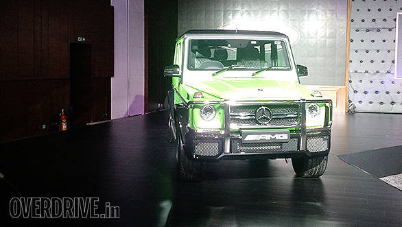 The Mercedes-Benz G 63 AMG in the new Crazy Colour scheme