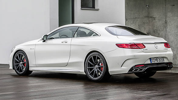 Mercedes benz to launch the iconic s class coupe in india for Mercedes benz amg s63 price