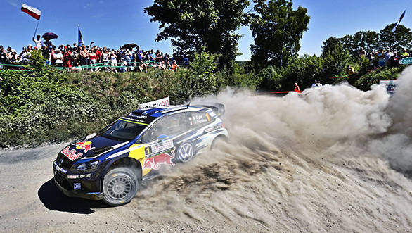 Sébastien Ogier (F), Julien Ingrassia (F) Volkswagen Polo R WRC (2015) WRC Rally Poland 2015