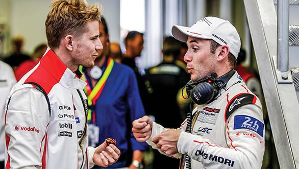 Porsche Team: Nico Huelkenberg, Nick Tandy (l-r)