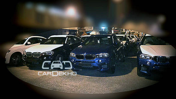Spied: New BMW X5M and X6M spotted in India