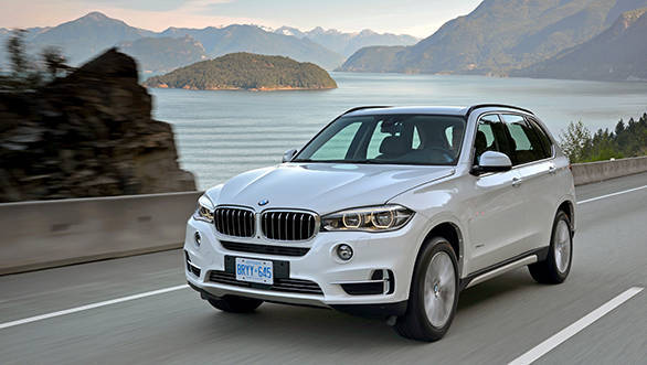 The BMW X5 resize