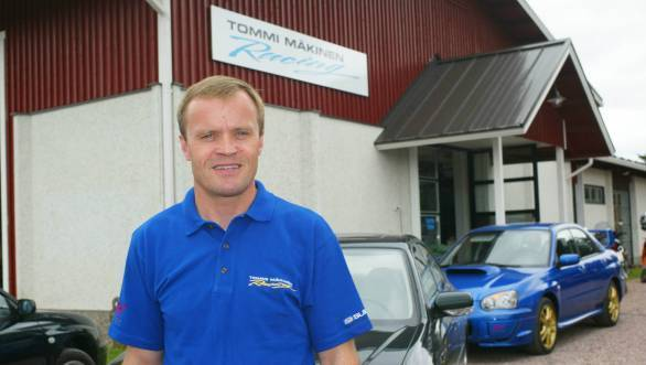 The team's operations will begin in Makinen's workshop in Finland