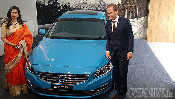 2015 Volvo S60 T6 Launched In India At Rs 42 Lakh Overdrive