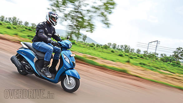2015 Yamaha Fascino first ride review
