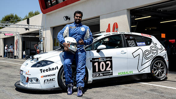 Sixth for Prashanth Tharani's Zest Racecar Engineering team at the 24 Hours of Paul Ricard