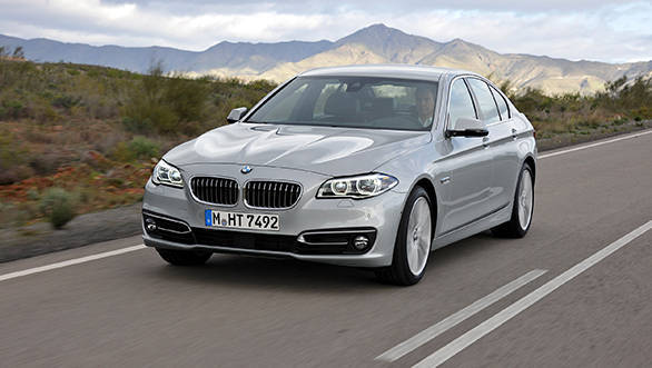 BMW 520i launched in India at Rs 54 lakh