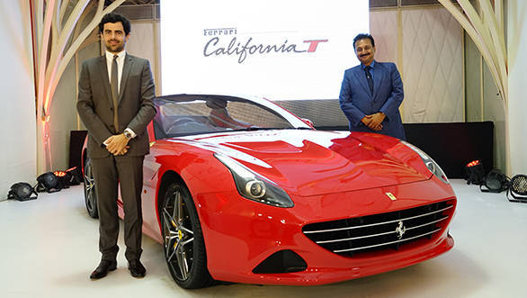 Aurelien Sauvard, International Sales Director, Ferrari - India and Mr. Sharad Kachalia, Director, Navnit Motors Private Limited (1)