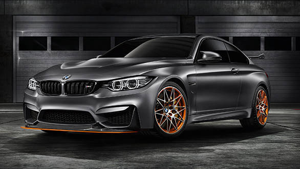 BMW premieres the Concept M4 GTS at the Pebble Beach Concours d'Elegance 2015