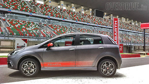 Exclusive: Fiat Punto Evo Abarth road test review - Overdrive