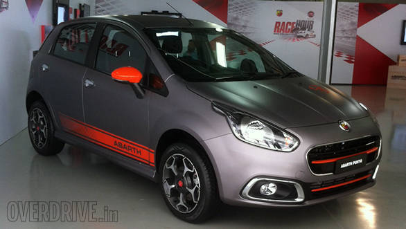 image gallery india bound fiat punto evo abarth overdrive. Black Bedroom Furniture Sets. Home Design Ideas