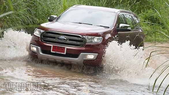 Ford Everest drive 015