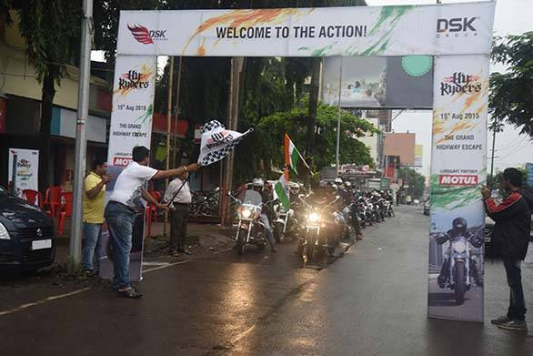 HyRyders Mumbai Flag Off