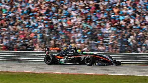 Jehan Daruvala finished eleventh in Race 1 and seventh in Race 2 of the fifth round of the Formula Renault 2.0 NEC series held at Assen