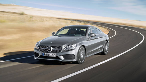 Mercedes Benz unveils C Class Coupe ahead of September 2015 debut