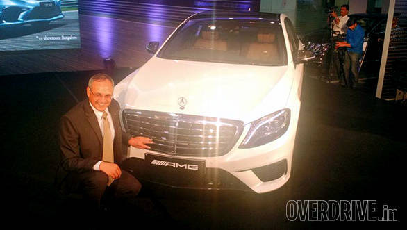 2015 Mercedes-Benz S 63 AMG sedan launched in India at Rs 2.53 crore