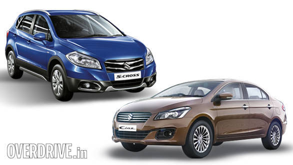 S Cross vs Ciaz