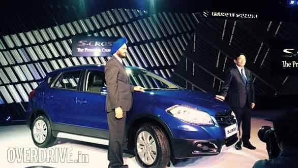 2016 Auto Expo: Maruti Suzuki S-Cross limited edition unveiled in India