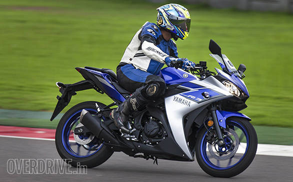 Yamaha YZF-R3 in India (2)