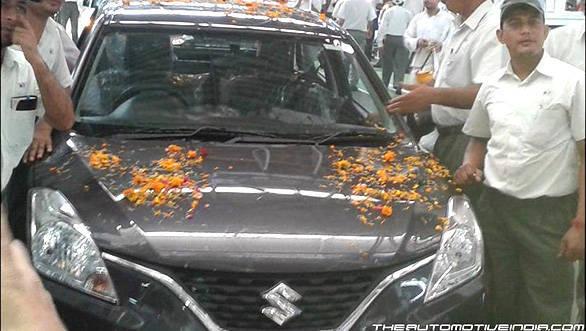 Maruti Suzuki begins production of the new Baleno hatchback at Manesar