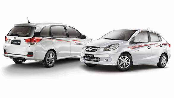Celebration Editions of the Honda Amaze and Mobilio launched in India
