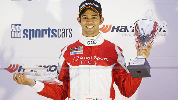 Audi Sport TT Cup 2015: Aditya Patel takes two class victories with fifth place finishes