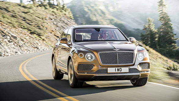 Bentley launch the new Bentayga in India at Rs 3.85 crore