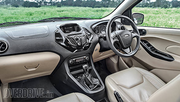 Ford Figo Aspire interior