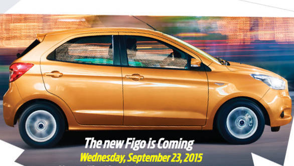 Ford to launch the new Figo hatchback in India on September 23, 2015
