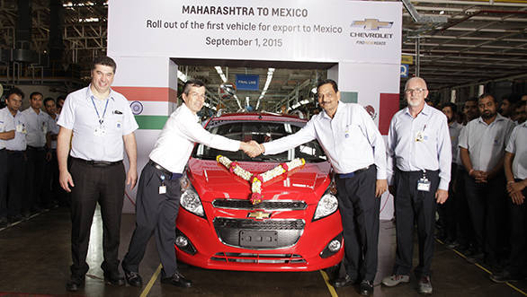 GM India Rolls Out First Vehicle for Mexican Consumers from its Talegaon Manufacturing Facility