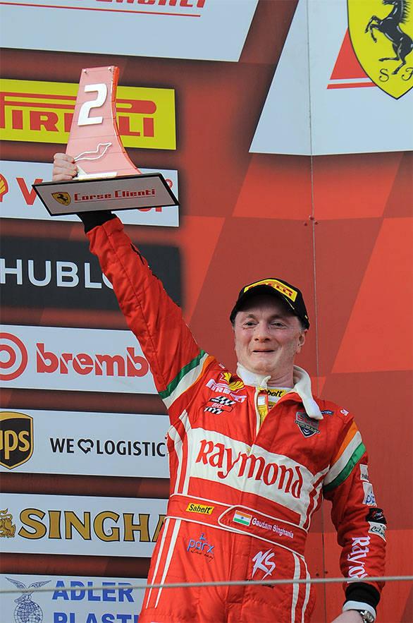 Gautam Singhania Ferrari Challenge 2015 (2)