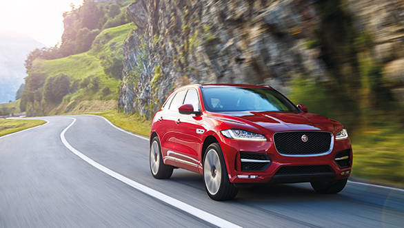 India-bound 2016 Jaguar F-Pace first drive review