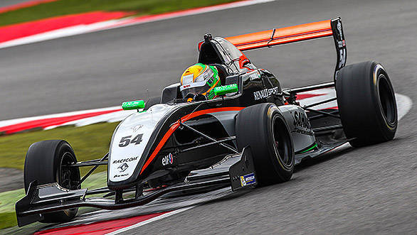SILVERSTONE (GBR) SEP 4-6 2015 - Round 6 of the World Series by Renault at Silverstone Circuit. Jehan Daruvala #54 Fortec Motorsports. Action.  2015 Diederik van der Laan / Dutch Photo Agency / LAT Photographic