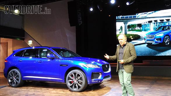 2015 Frankfurt Motor Show: Jaguar F-Pace SUV unveiled