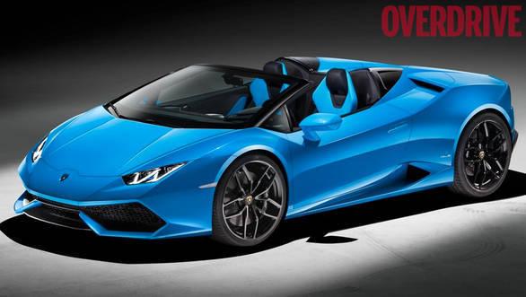 2015 Frankfurt Motor Show: Lamborghini Huracán Spyder drops its hat