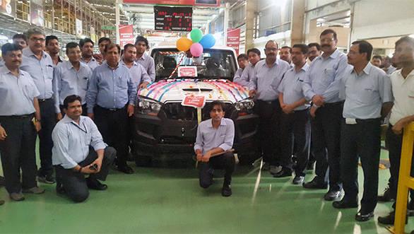 Mahindra's Haridwar Plant_7 lac vehicles production milestone