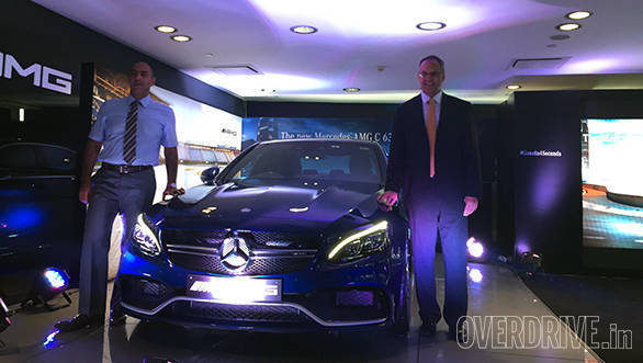 2015 Mercedes-AMG C 63 S launched in India at Rs 1.30 crore
