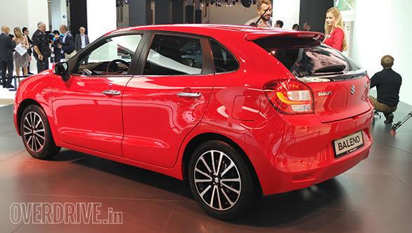 Suzuki Baleno hatchback (1)
