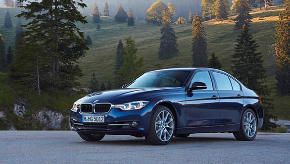 BMW 340i, Colour: mediterranean blue. Leather: Dakota Oyster, Sp