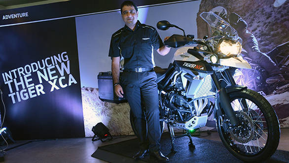 Triumph Tiger XCA launch