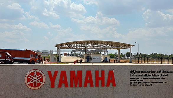 CHENNAI, APRIL 18: Yamaha Motor holds factory opening ceremony o