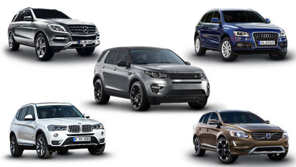 spec comparison land rover discovery sport vs audi q5 vs bmw x3 vs mercedes benz m class vs. Black Bedroom Furniture Sets. Home Design Ideas