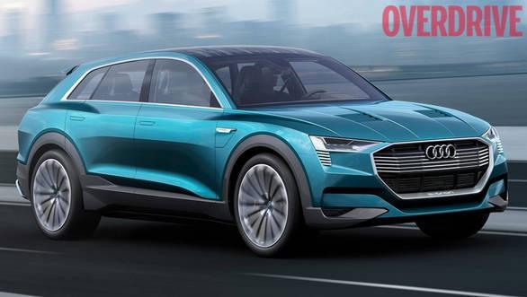 2015 Frankfurt Motor Show: Audi E-Tron Quattro concept previews upcoming hybrid SUV